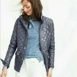 J. Crew Quilted Field Puffer Jacket